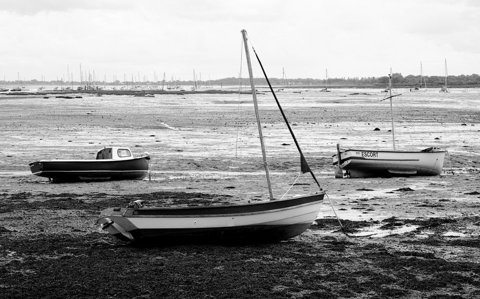Boats in Emsworth Harbour