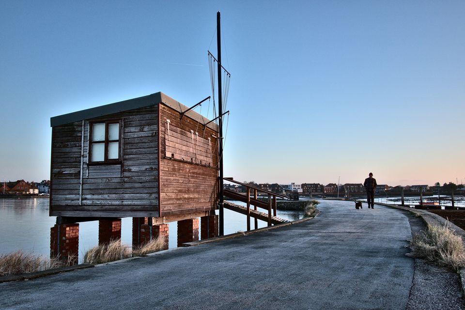 Emsworth Harbour Fisherman's Hut