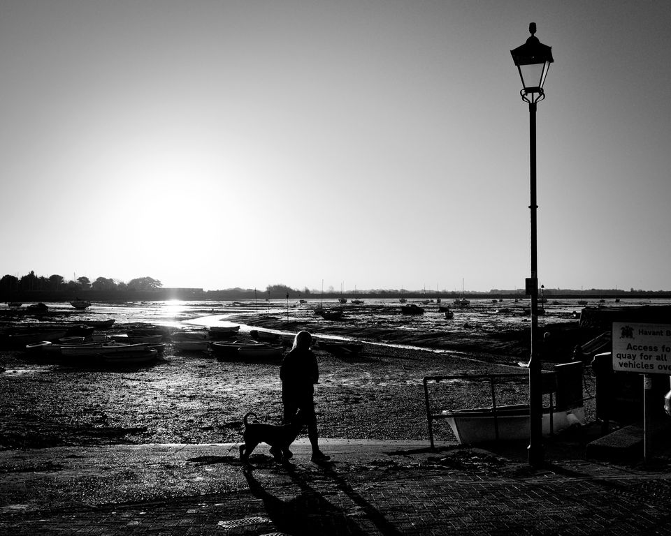 Emsworth Harbour Silhouette