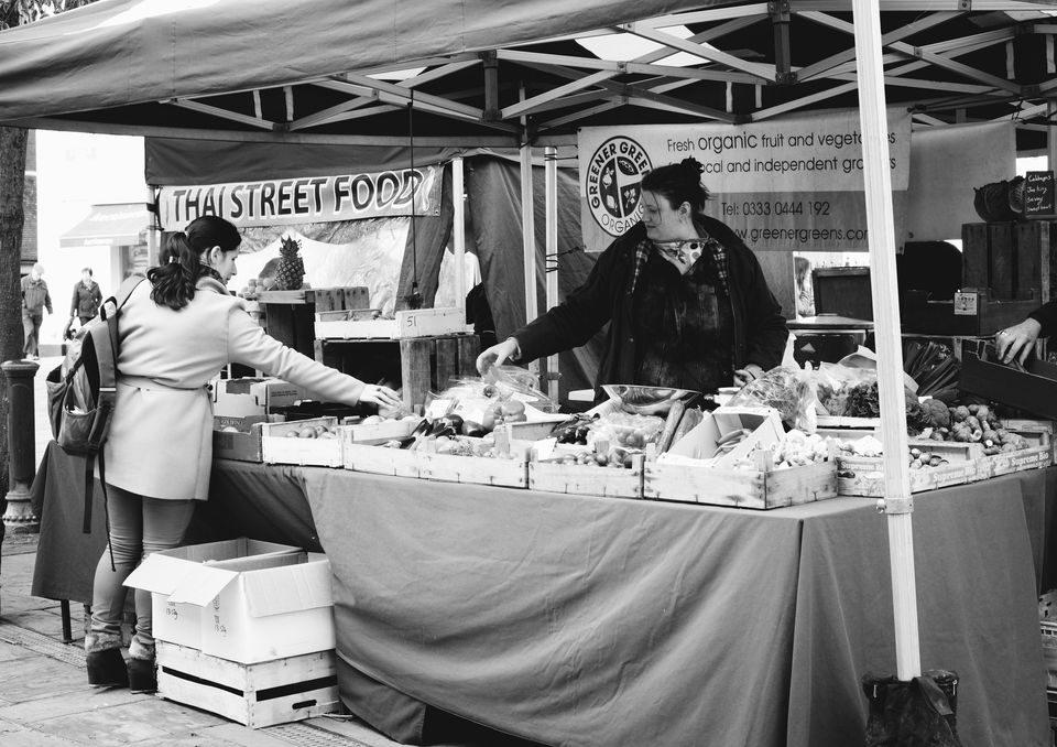 Horsham Street Market Stall