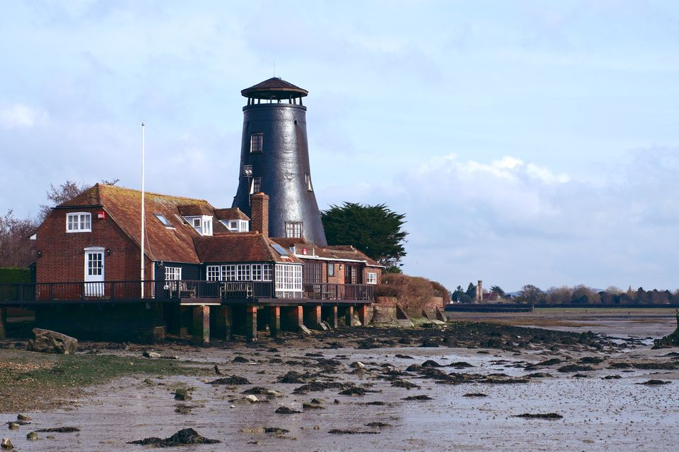 Langstone Mill and Warblington Castle