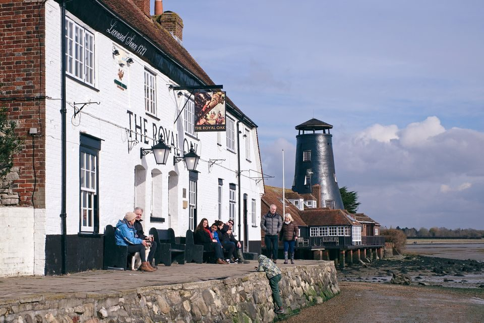 Langstone Mill and Royal Oak Pub