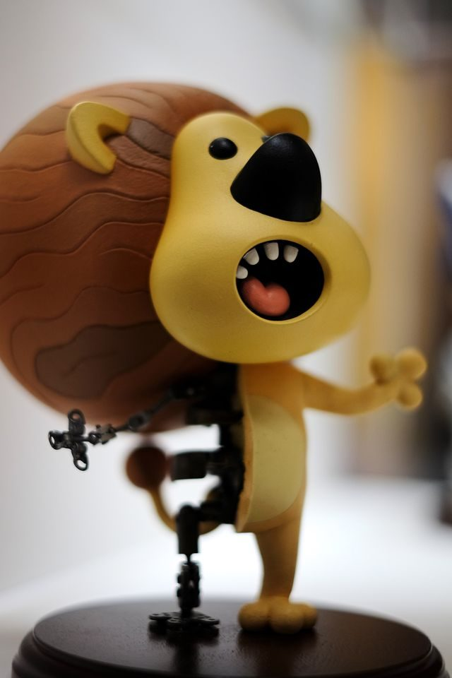 Raa Raa! The Noisy Lion model