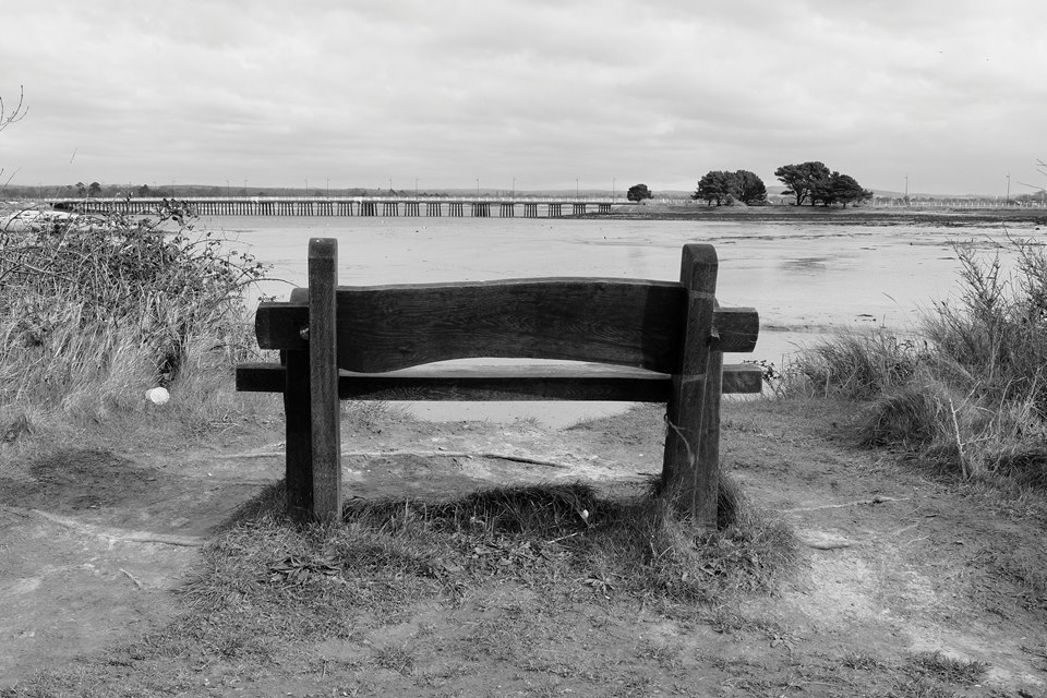 Bench on Hayling island