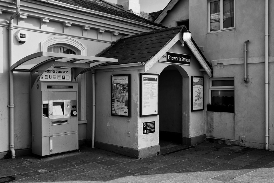 Emsworth Station Entrance