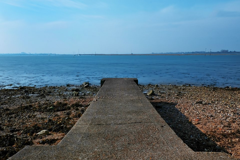 View of Emsworth Beach