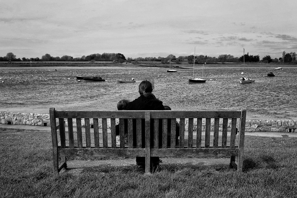 Looking out on Bosham Harbour
