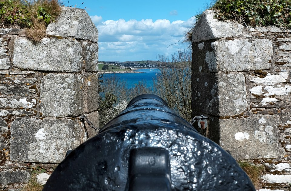 Down the Cannon Sights