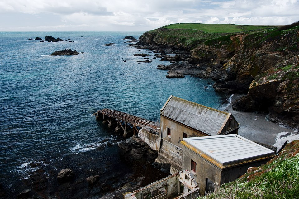 The Old Lifeboat Station at Lizard