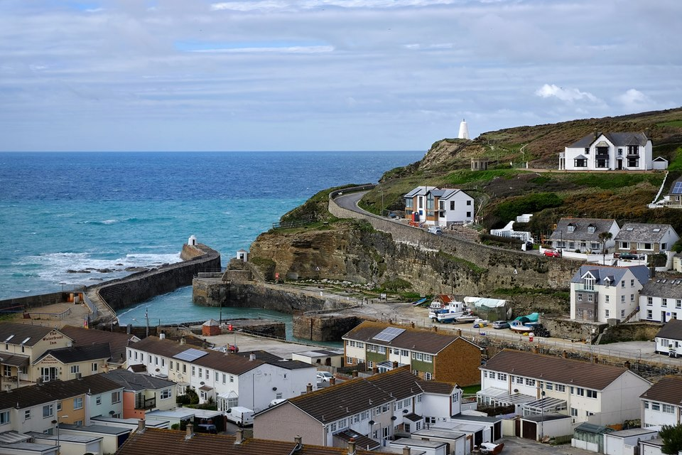 Portreath Harbour and Pepperpot
