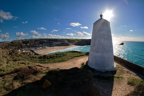 Portreath and Pepperpot fisheye